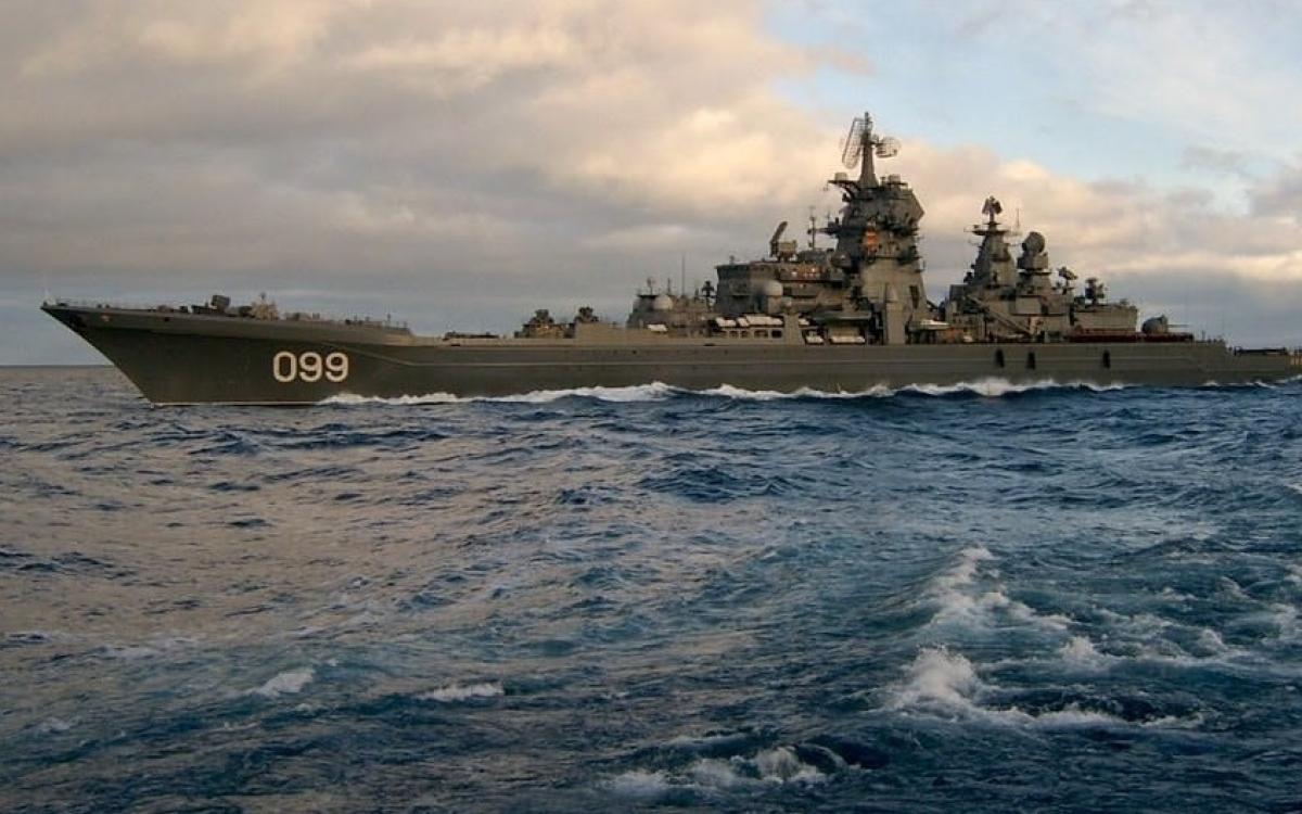 Một tàu thuộc Hạm đội phương Bắc. Ảnh: Caspian News.