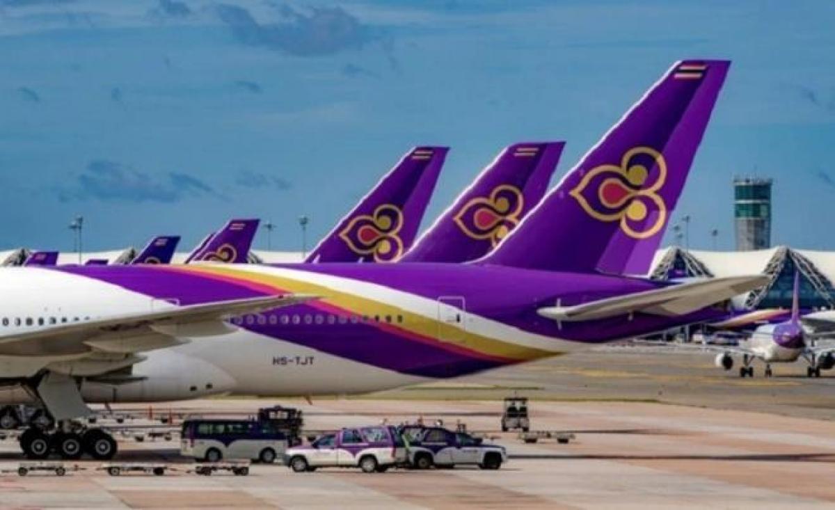 Thai Airways trước nguy cơ phá sản. Ảnh: Bangkokpost.