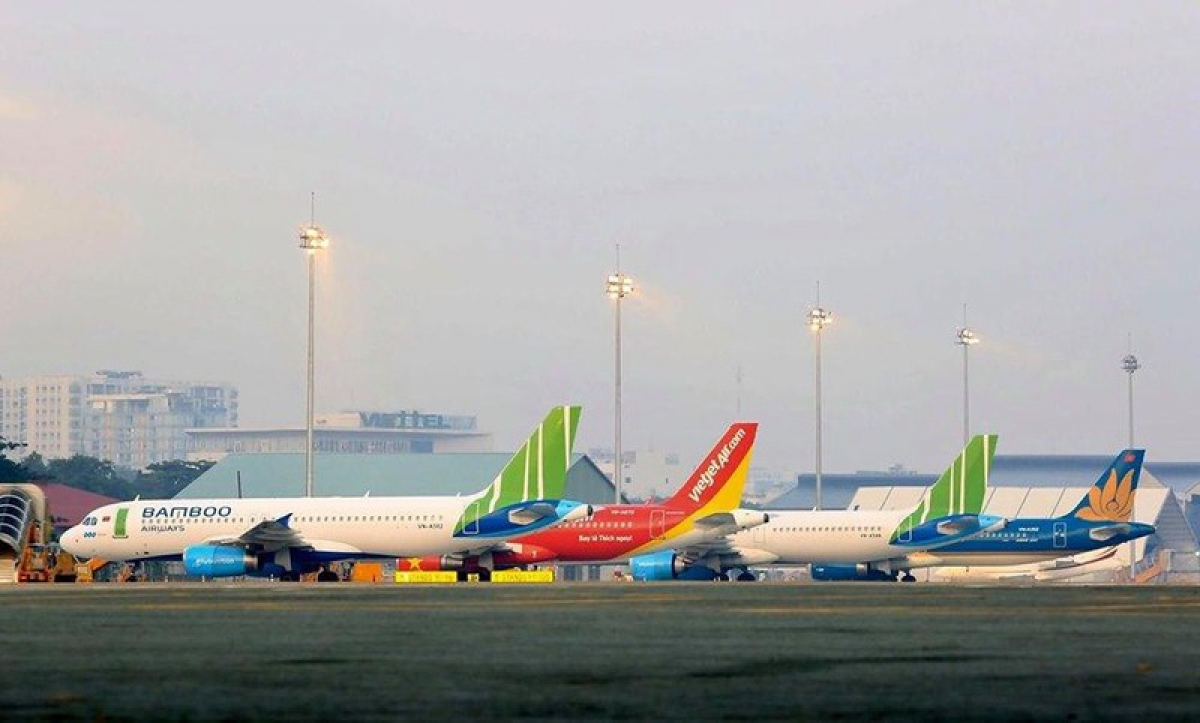 Các hãng hàng không đồng loạt kiến nghị Chính phủ có các giải pháp hỗ trợ khó khăn do dịch bệnh.
