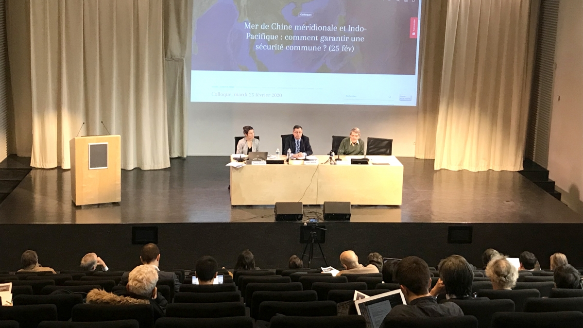 Hội thảo về Biển Đông do quỹ Gabriel Péri tổ chức tại Paris - Pháp