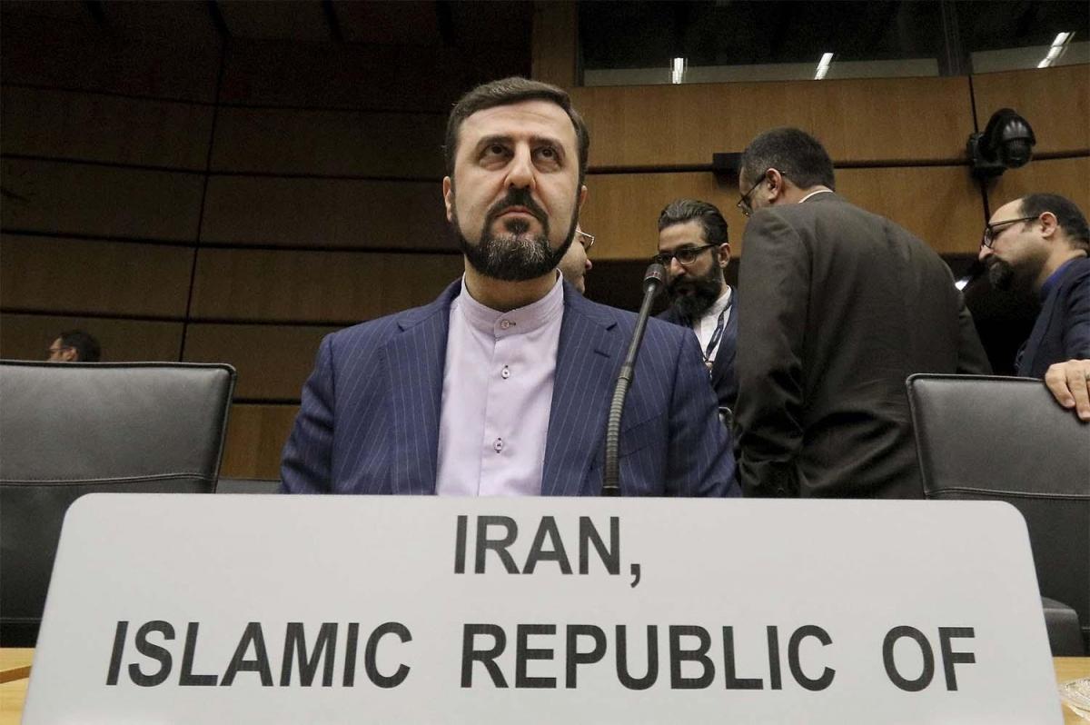 Đại sứ Iran tại IAEA Kazem Gharibabadi.
