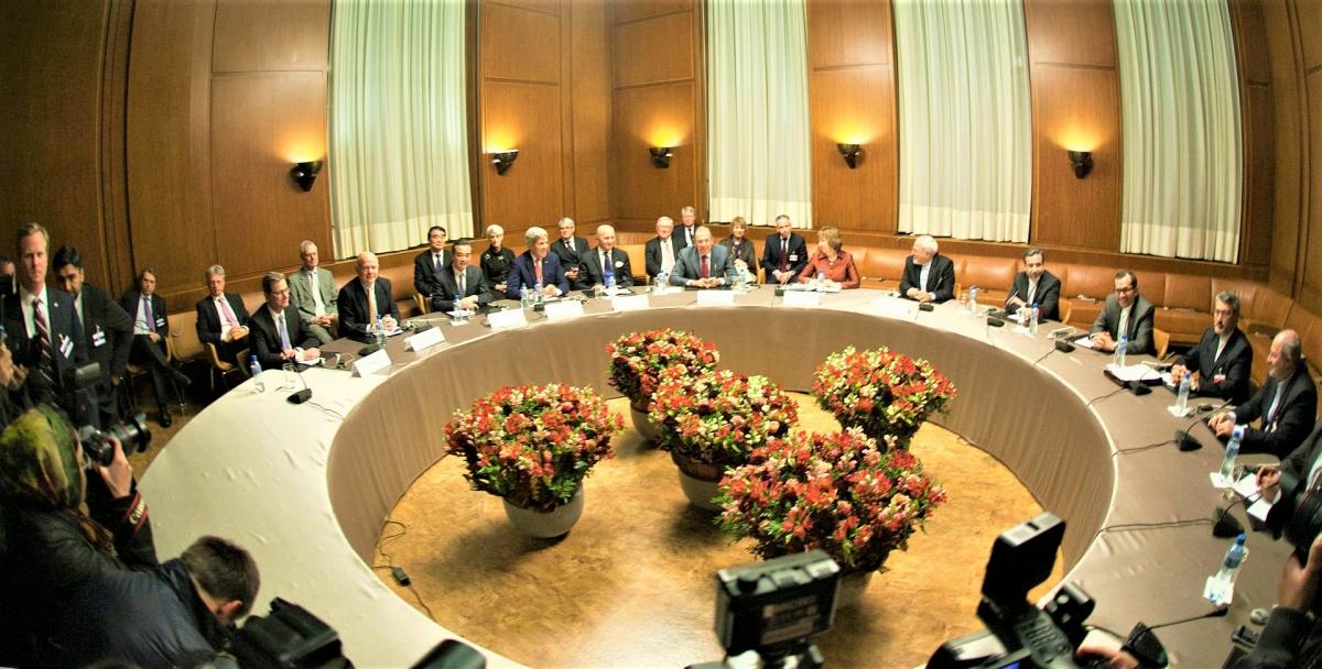 Gặp gỡ của Bộ trưởng P5+1 tại Geneva; Nguồn: wikipedia.org