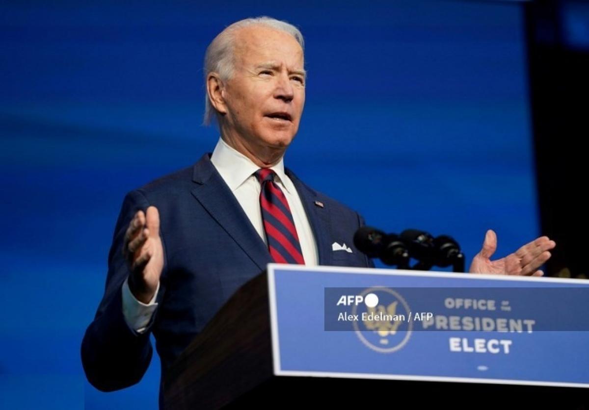 Ông Biden cho rằng vụ tấn công mạng nhằm vào Mỹ chưa được kiểm soát. Ảnh: AFP.