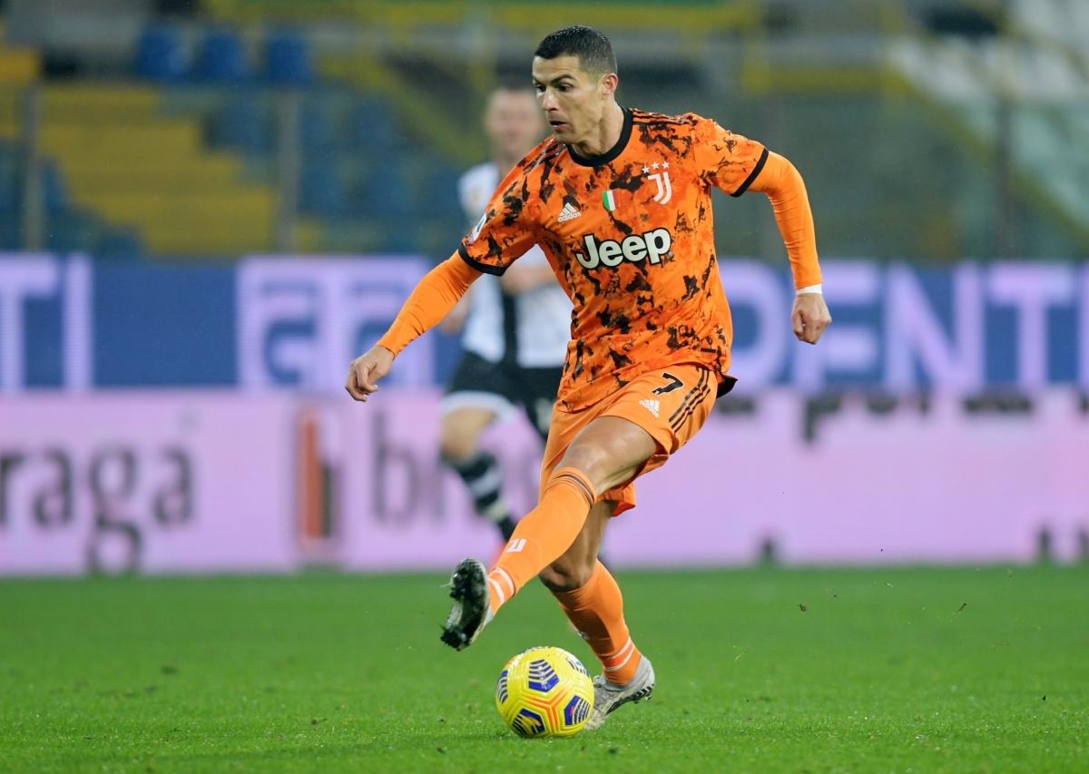Ronaldo đã sở hữu cho mình 10 bàn thắng trong 8 trận gần nhất trên mọi đấu trường. (Ảnh: Getty).