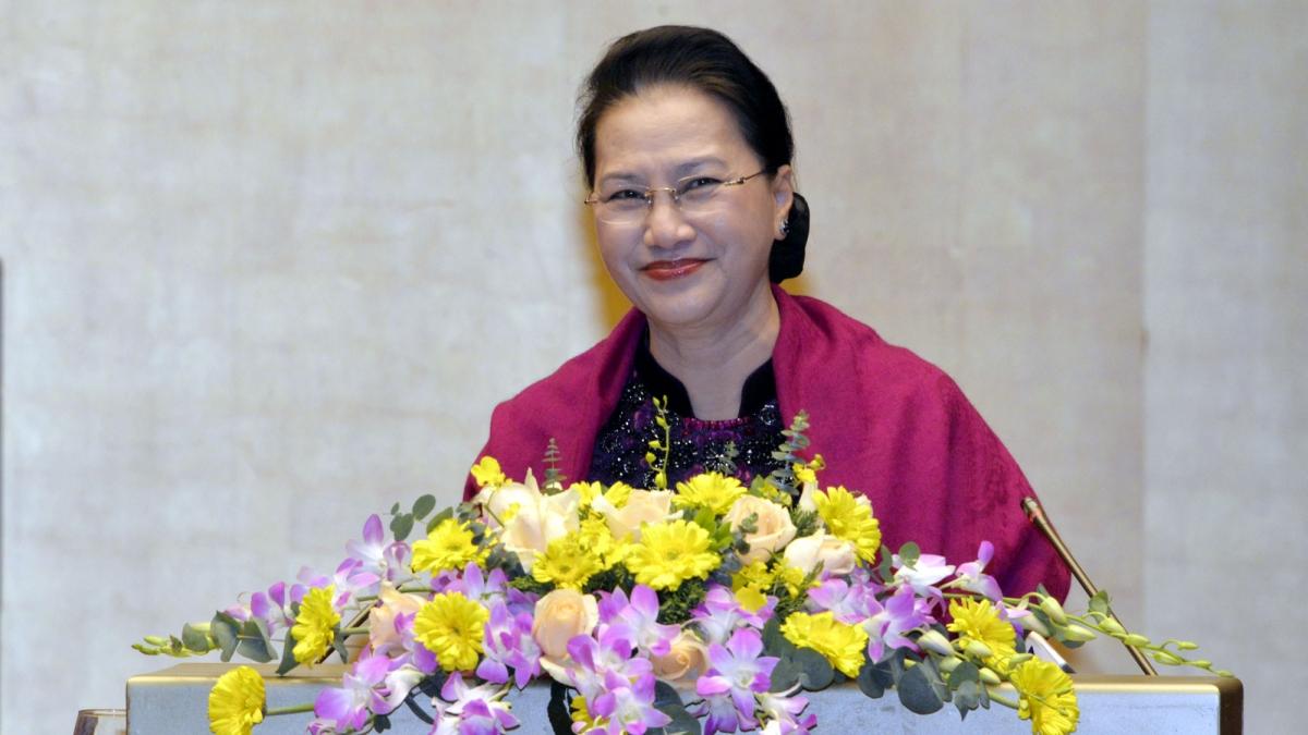 Chủ tịch Quốc hội phát biểu tại Hội nghị tổng kết AIPA 2.