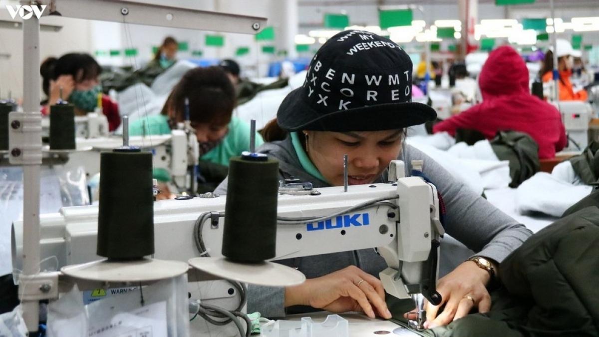 Nhiều doanh nghiệp đang đẩy mạnh sản xuất, phục vụ thị trường Tết, theo đó, nhu cầu tuyển dụng tăng cao. (Ảnh minh họa)