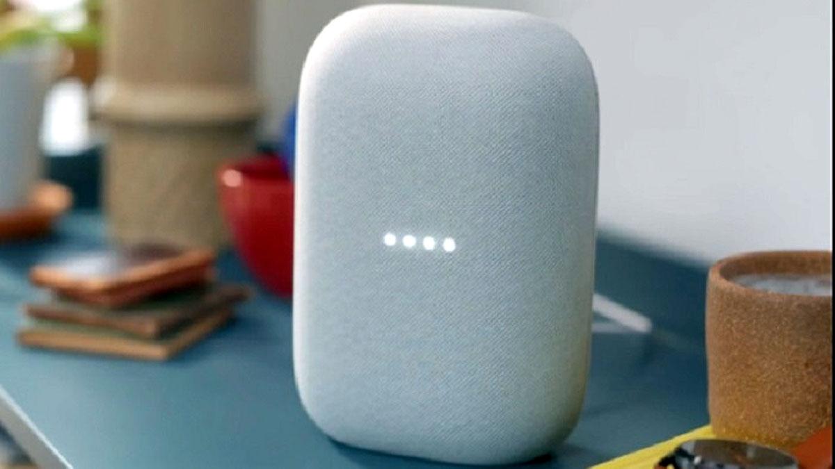 Hệ thống loa thông minh Nest Audio của Google có tính năng hỗ trợ Apple Music. (Ảnh minh họa: KT)