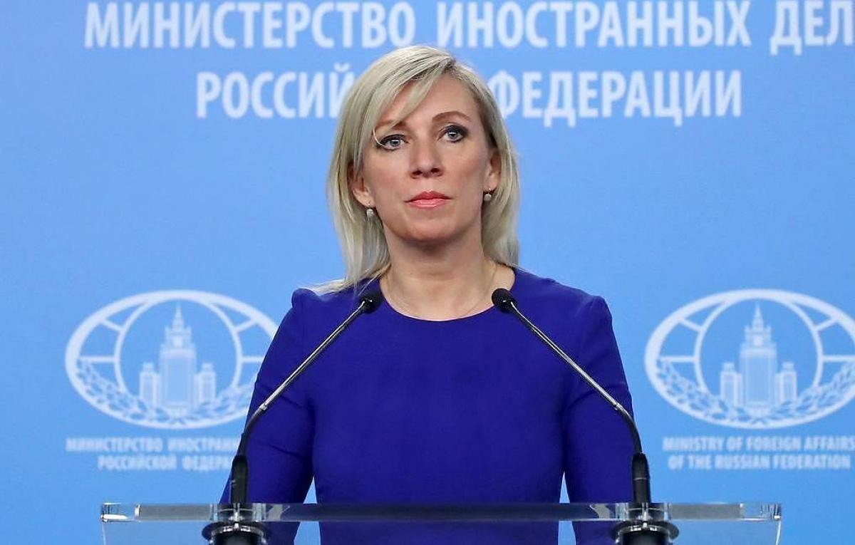 Người phát ngôn Bộ Ngoại giao Nga Maria Zakharova. Ảnh: TASS