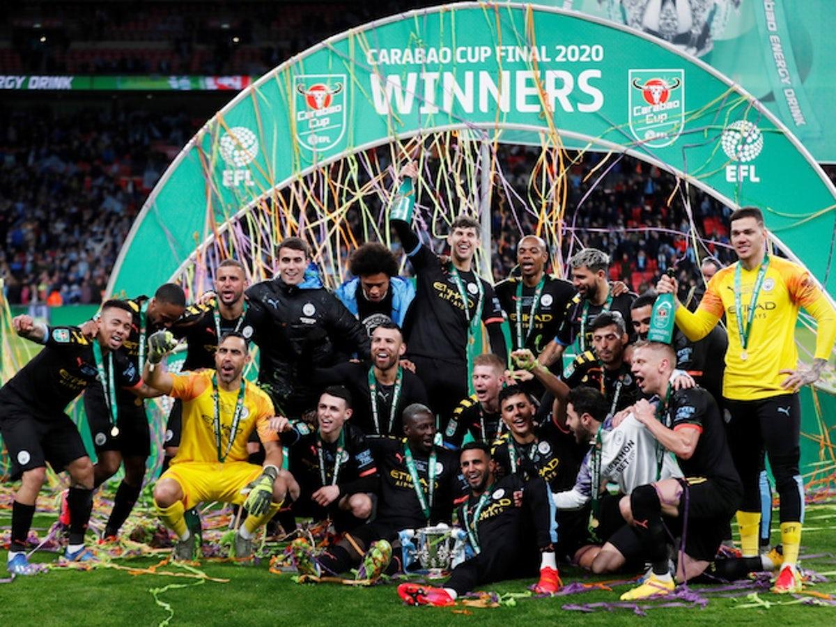 Man City đang là đương kim vô địch Cúp Liên Đoàn Anh. (Ảnh: Getty).