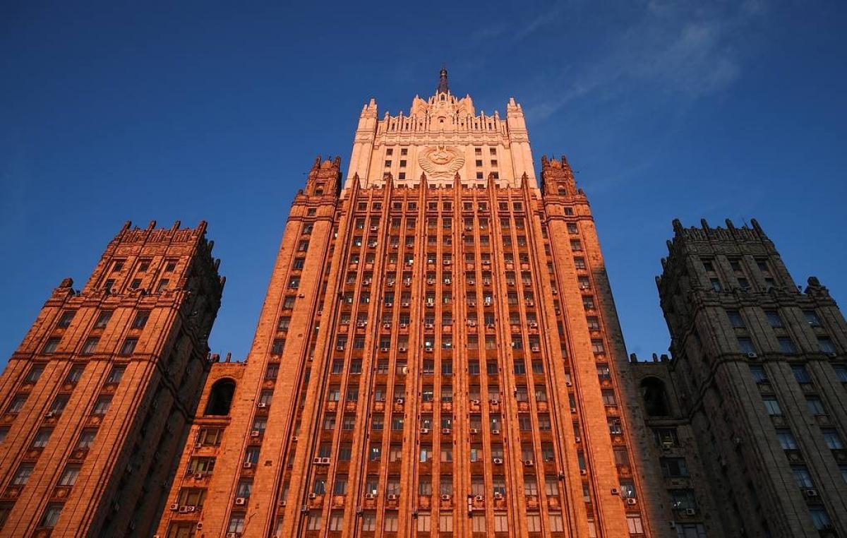 Bộ Ngoại giao Nga. Nguồn: Tass