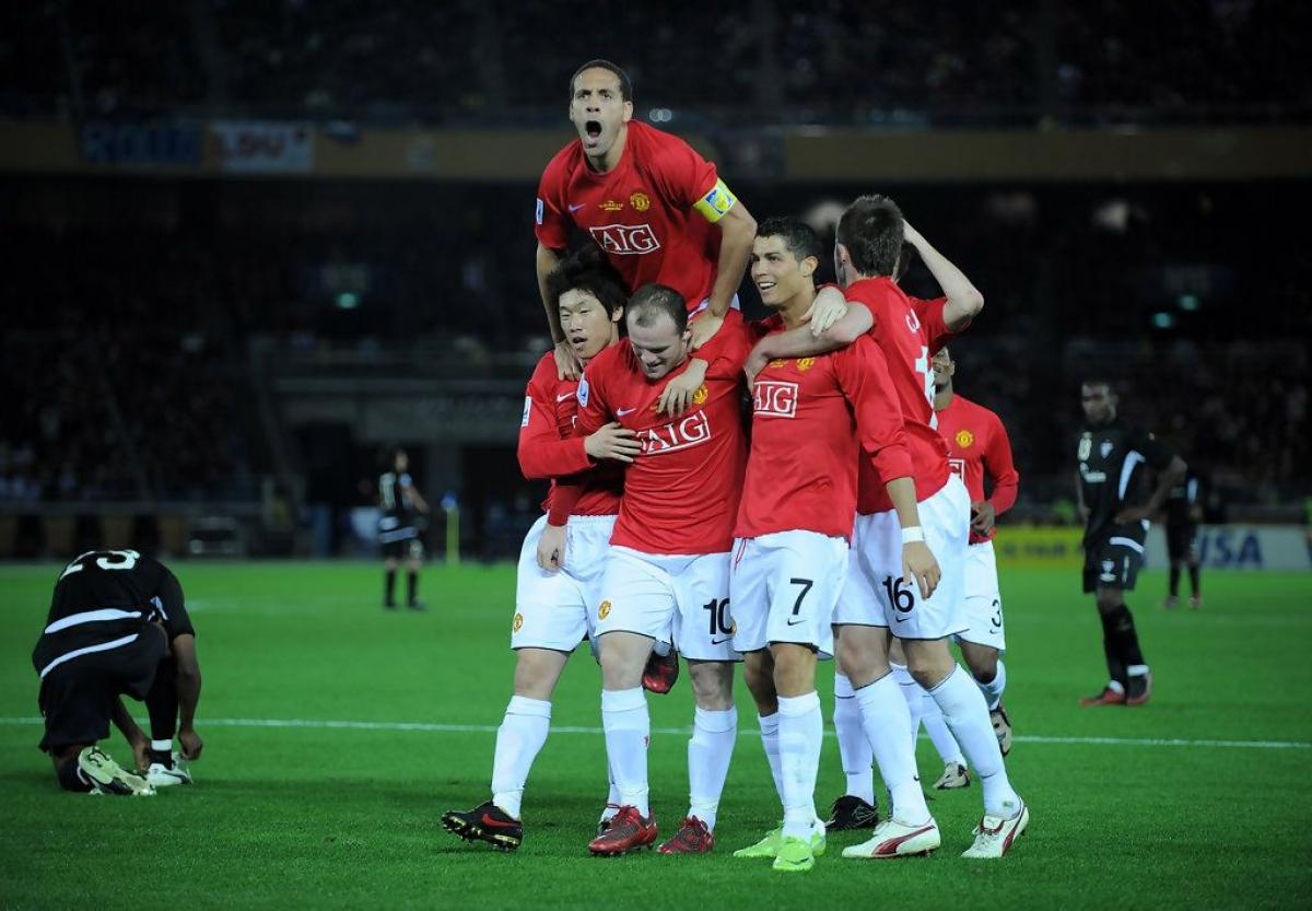 Wayne Rooney tỏa sáng đưa MU lên ngôi vô địch FIFA Club World Cup 2008. (Ảnh: Getty)