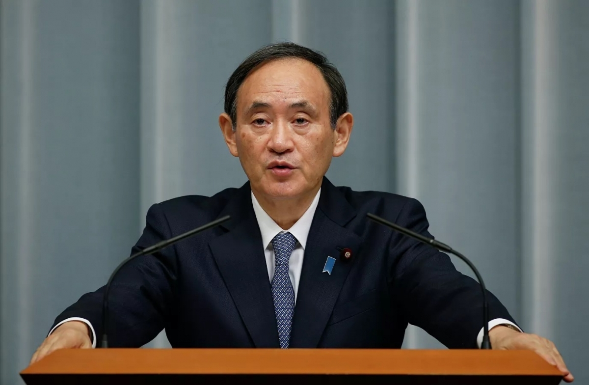 Thủ tướng Nhật Bản Yoshihide Suga. (Ảnh: AP)