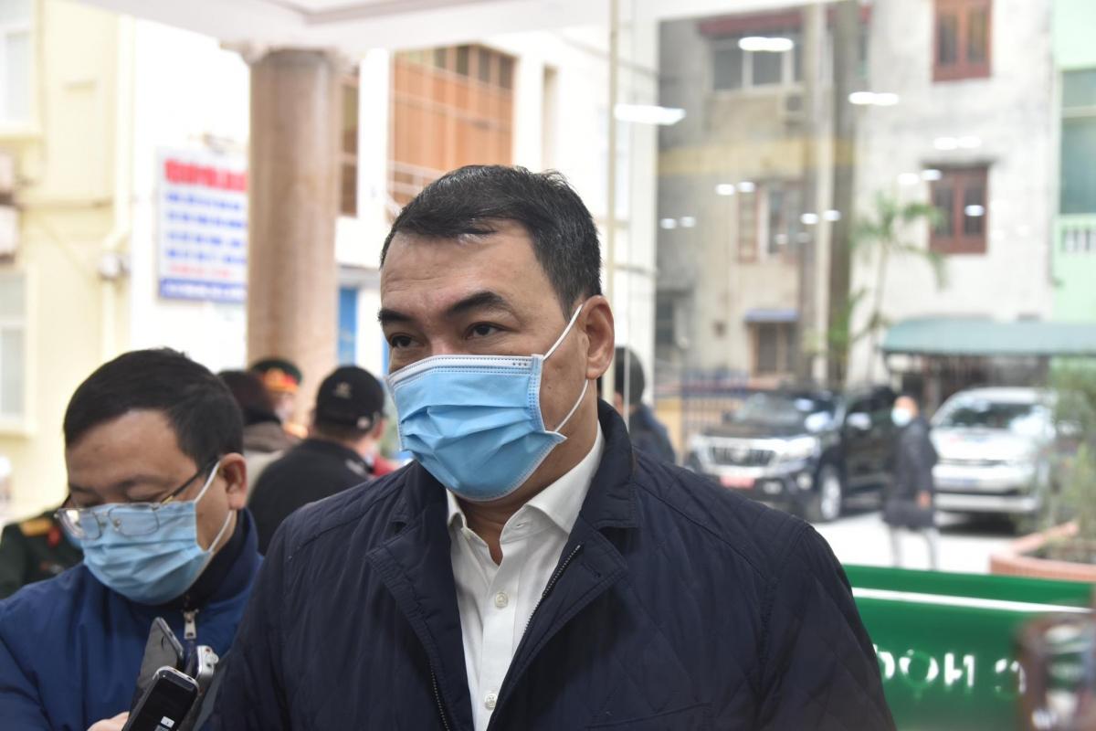 Ông Nguyễn Ngô Quang, Phó Cục trưởng Cục Khoa học công nghệ (Bộ Y tế).