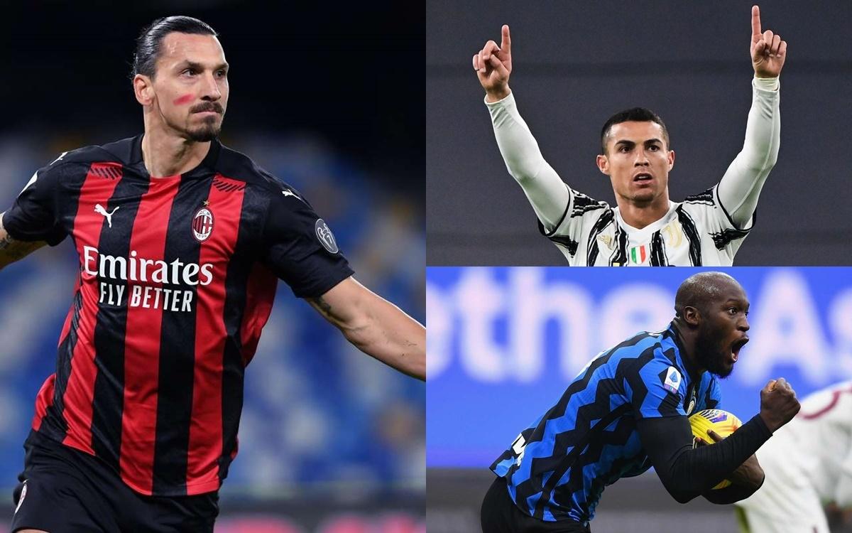 Top 10 cầu thủ ghi bàn tốt nhất Serie A 2020/2021 tính đến thời điểm hiện tại gồm có: