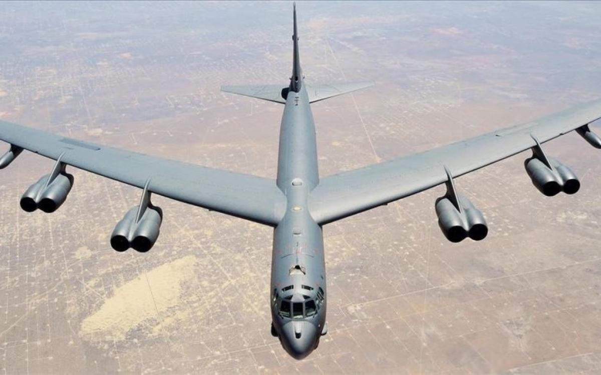 Pháo đài bay B-52. Ảnh: Anadolu.