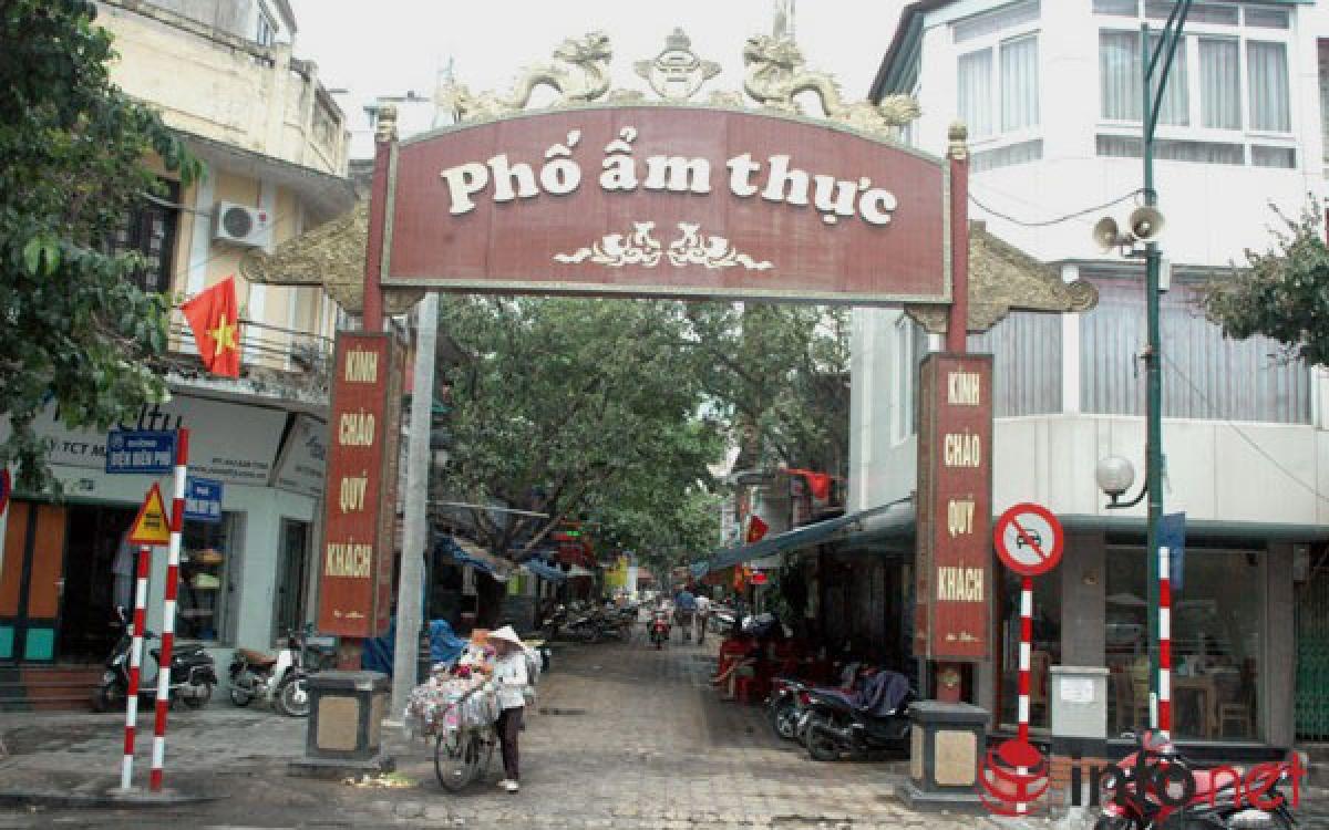 Phố ẩm thực Tống Duy Tân sẽ được triển khai thí điểm tổ chức hoạt động Kinh tế đêm ở quận Hoàn Kiếm.