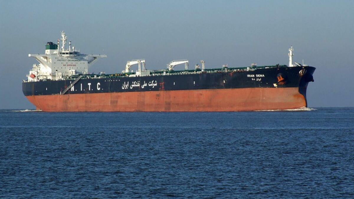 Tàu chở dầu Iran. Ảnh: Sputnik
