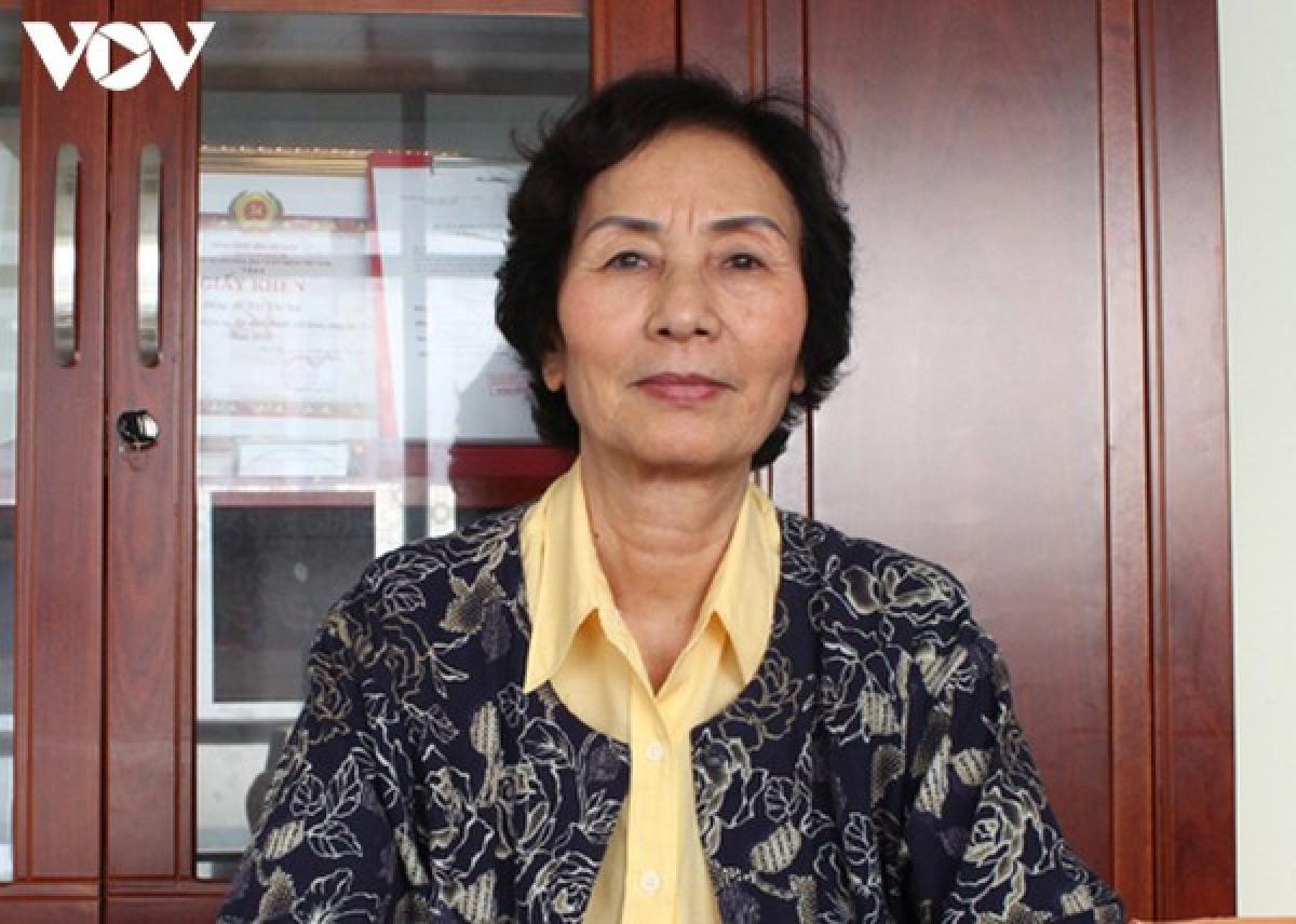 PGS TS Bùi Thị An - Viện trưởng Viện Tài nguyên môi trường phát triển cộng đồng.