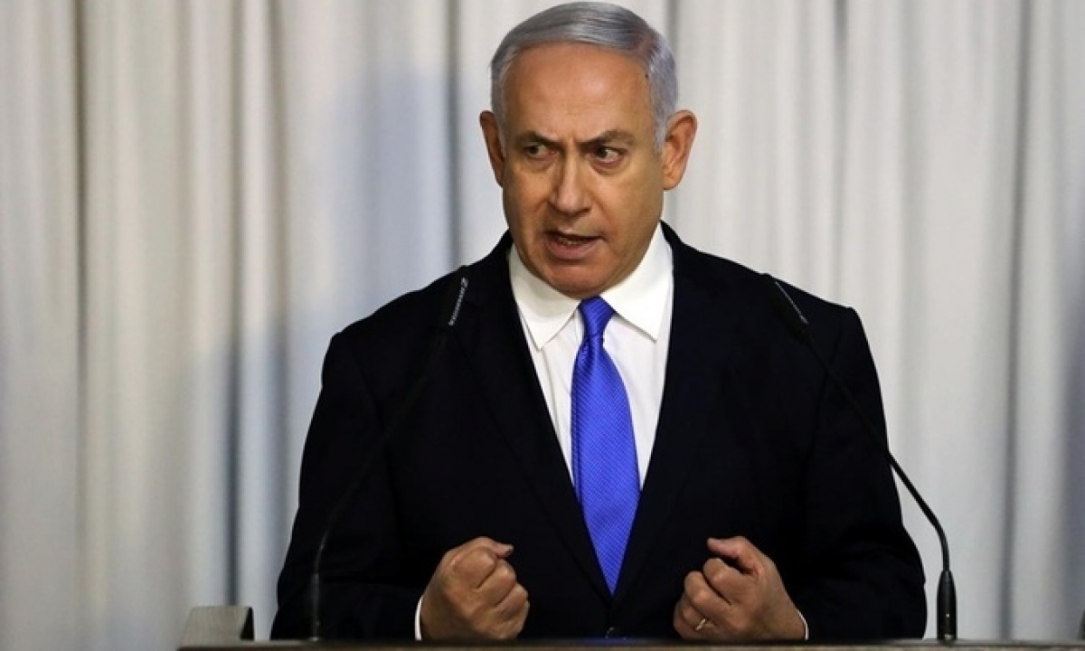 Thủ tướng Israel Benjamin Netanyahu. Ảnh: Reuters.