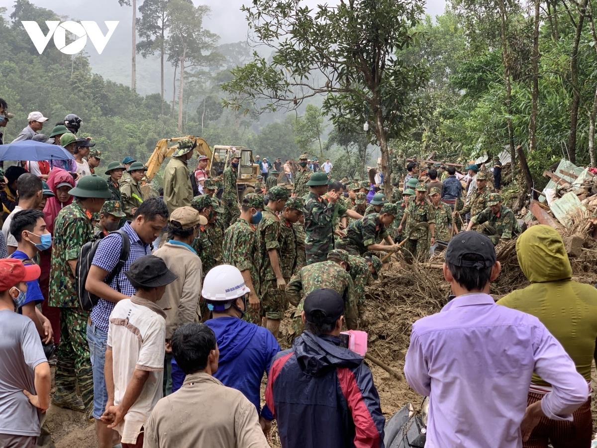 Trước khi xảy ra sạt lở, nhiều vùng ở huyện Nam Trà My, nơi gần thủy điện Sông Tranh 2 liên tục xảy ra động đất kích thích