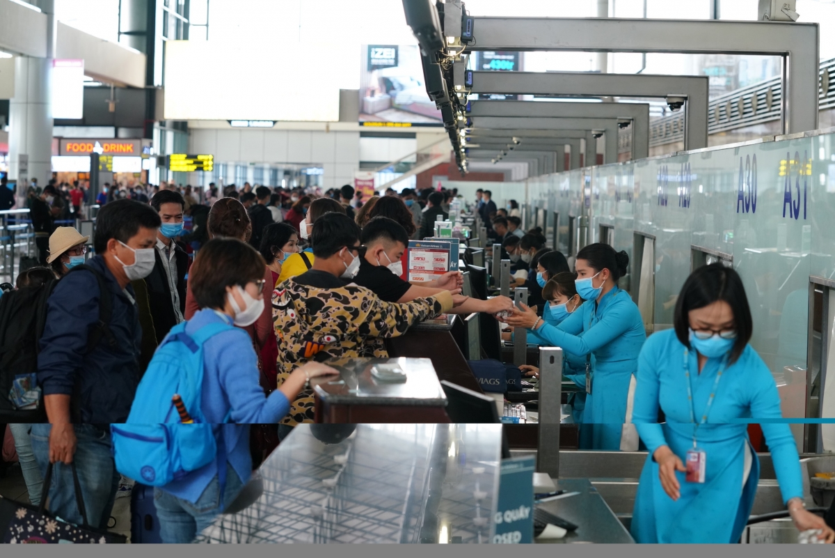 Vietnam Airlines Group sẽ tăng tải nâng tổng số ghế toàn mạng bay nội địa của vào dịp Tết lên 2,4 triệu chỗ, tương đương gần 12.000 chuyến bay.