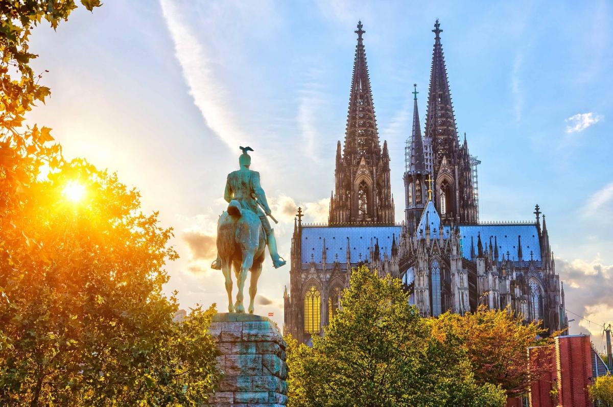 Nhà thờ Cologne, Đức. Nguồn: Shutterstock