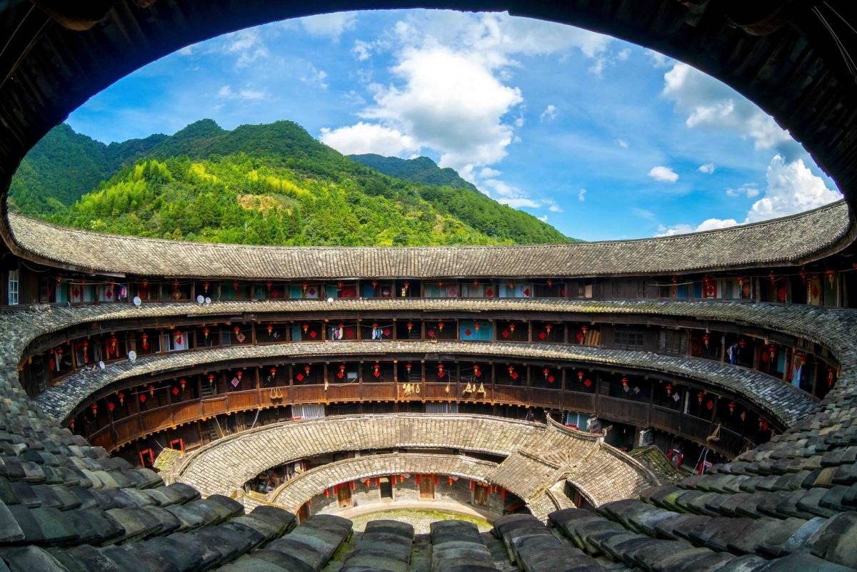 Phúc Kiến Thổ Lâu, Trung Quốc. Nguồn: Shutterstock