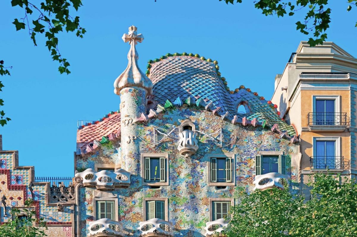 Công trình kiến trúc tại Barcelona, Tây Ban Nha. Nguồn: Shutterstock