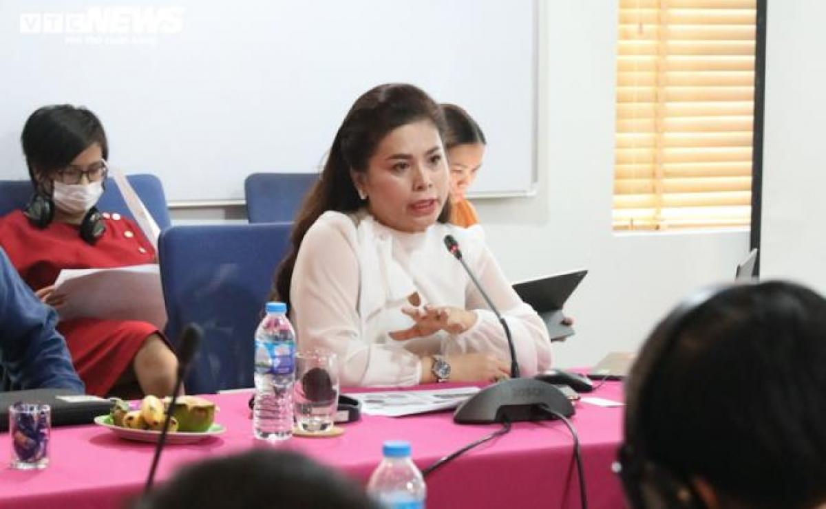 Bà Lê Hoàng Diệp Thảo – Phó Chủ tịch VICOFA
