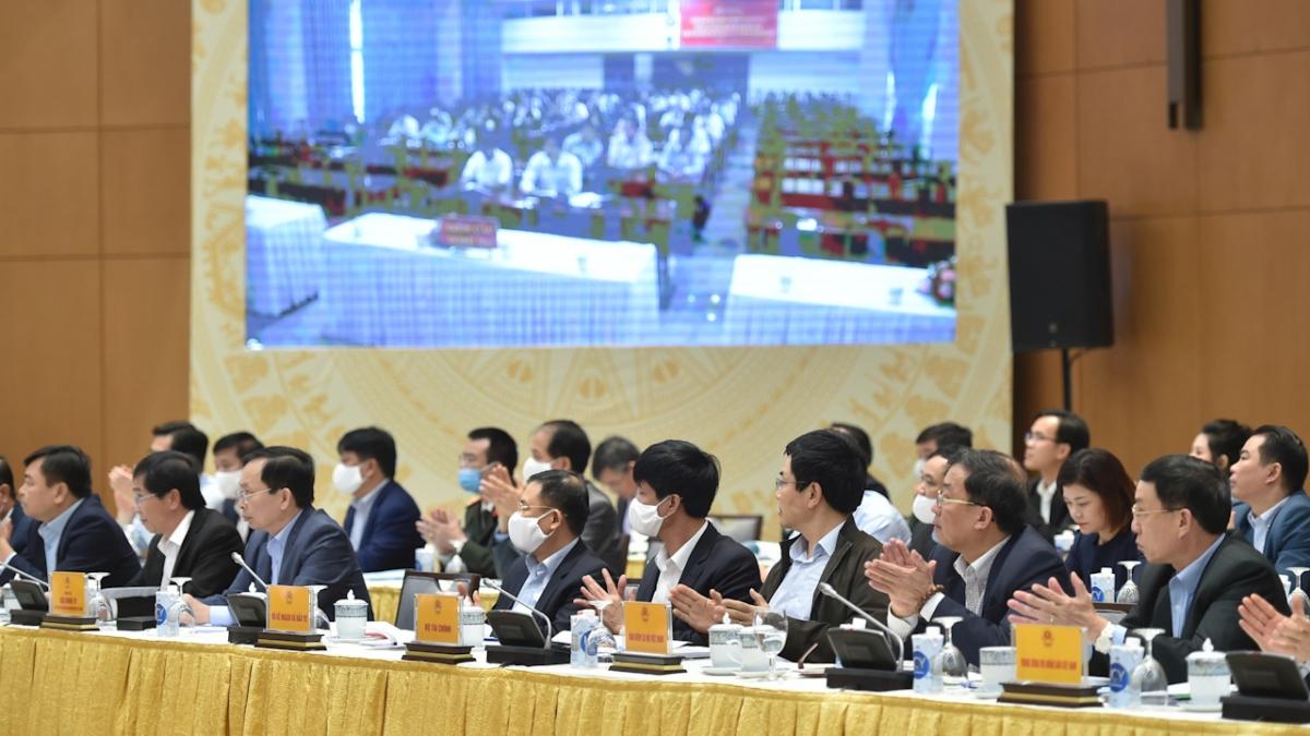 Hội nghị trực tuyến toàn quốc đánh giá kết quả 10 năm thực hiện Kết luận 61 năm 2009 của Ban Bí thư