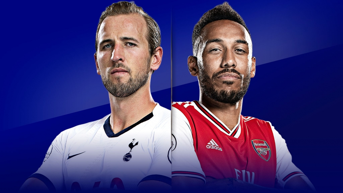 Tottenham và Arsenal có vị thế trái ngược trước trận derby Bắc London. (Ảnh: Sky Sports)