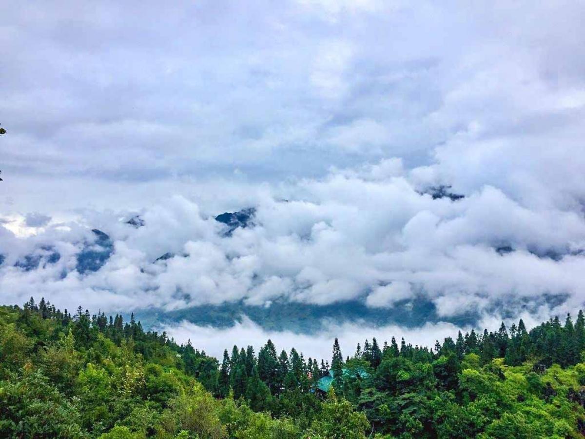 Biển mây ở núi Hàm Rồng. Nguồn: Kỳ nghỉ Đông Dương