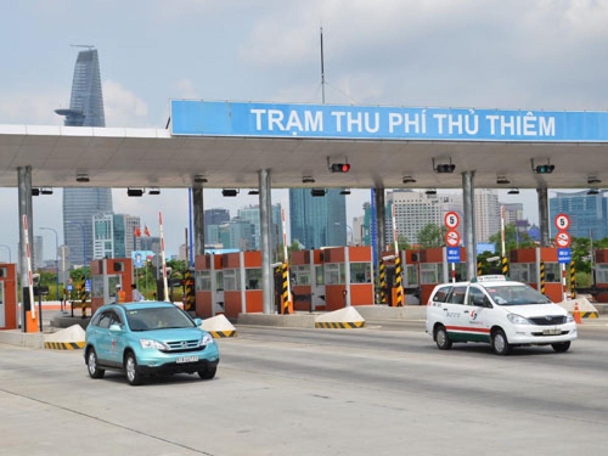 TP Hồ Chí Minh vẫn chưa thể triển khai việc thu phí tự động ETC tại trạm trên đường Nguyễn Văn Linh.