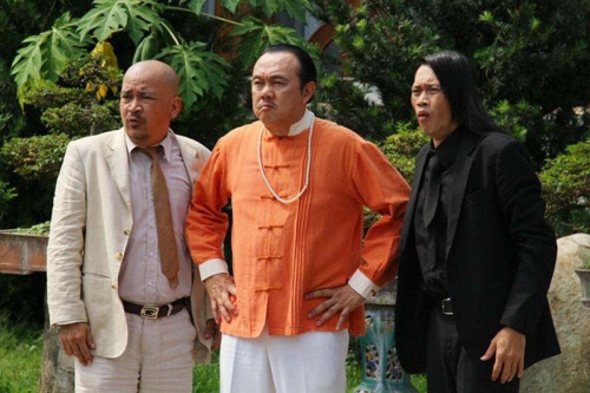 Chí Tài vàovai Huỳnh Tài, ông bố giang hồ củaHuỳnh Mai (Bảo Thy).