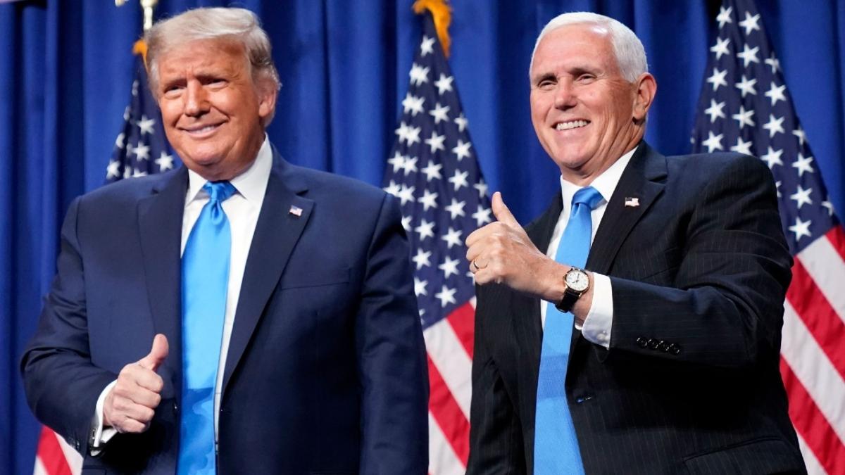 Tổng thống Donald Trump và Phó Tổng thống Mike Pence. Ảnh: AP
