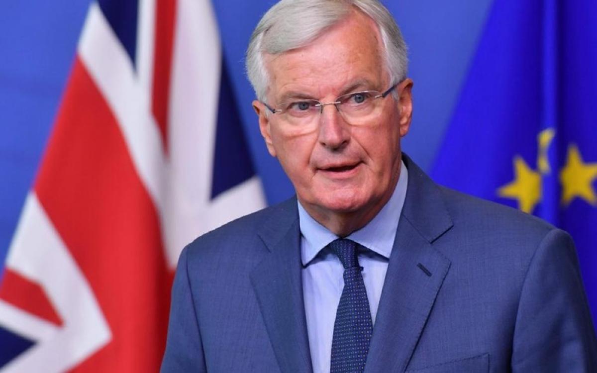 Trưởng đoàn đàm phán của EU, Michel Barnier. Ảnh: The Times.