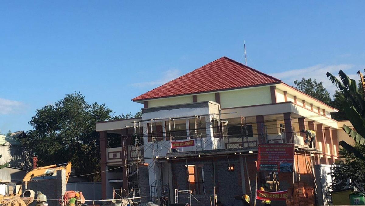 Công trình Xây dựng trụ sở Mặt trận Tổ quốc khối đoàn thể xã Vĩnh Hòa