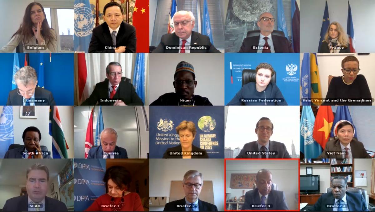 Phiên họp Hội đồng Bảo an LHQ về tình Sudan.