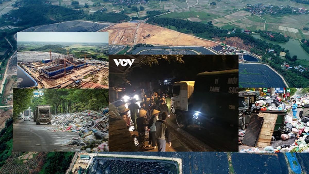 Trong 21 năm, có tới 15 lần người dân chặn xe rác vào khu liên hợp xử lý rác Nam Sơn, biết bao thế hệ lãnh đạo Thủ đô hứa sẽ giải quyết dứt điểm vấn đề này nhưng đến nay vấn đề này vẫn chưa được xử lý dứt điểm.
