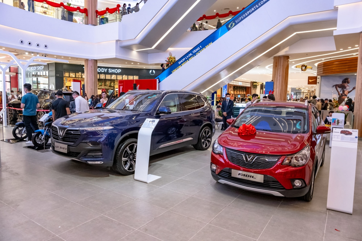 VinFast đã bán được tổng cộng 4.040 xe trong tháng 11/2020.