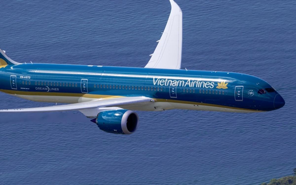 Máy bay hãng Hàng không quốc gia Việt Nam. Ảnh: Asia Dmc.