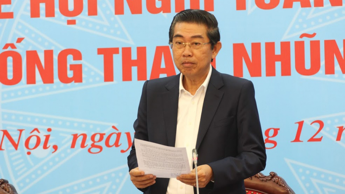Ông Võ Văn Dũng - Phó Trưởng Ban thường trực Ban Nội chính Trung ương