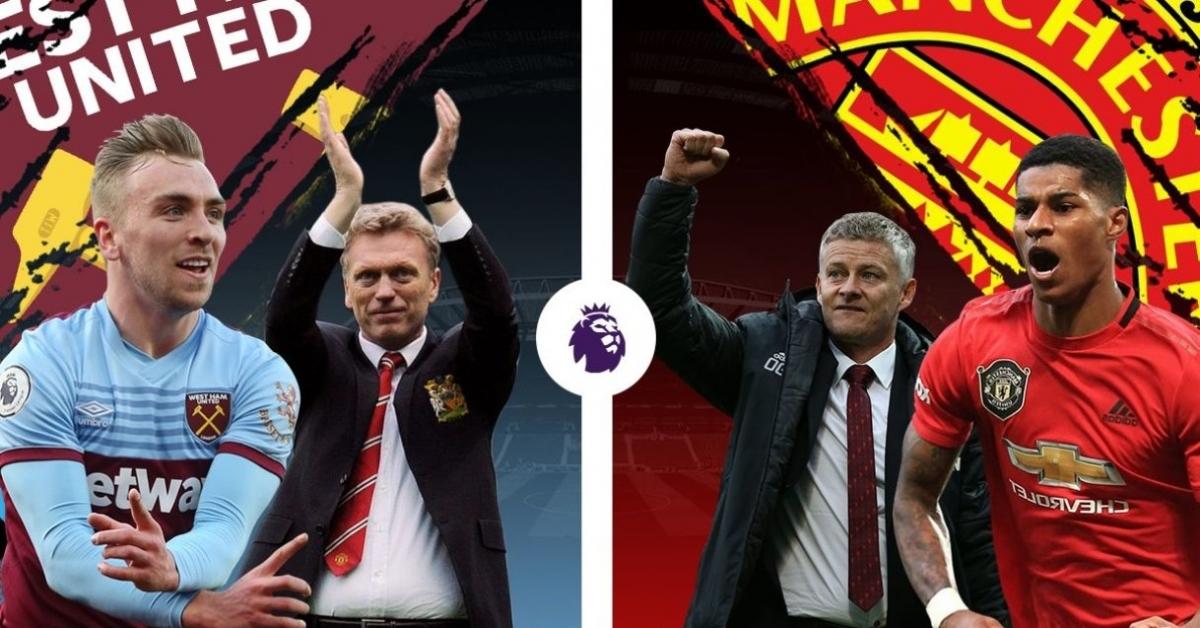 West Ham thắng 2, hòa 2, thua 1 trong 5 lần chạm trán MU gần nhất. (Ảnh: SportCo)