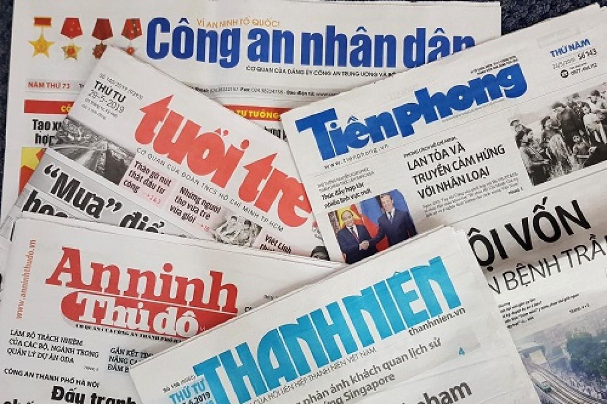 Bộ Thông tin và Truyền thông thu hồi và cấp phép mới cho một số cơ quan báo chí. Ảnh minh họa
