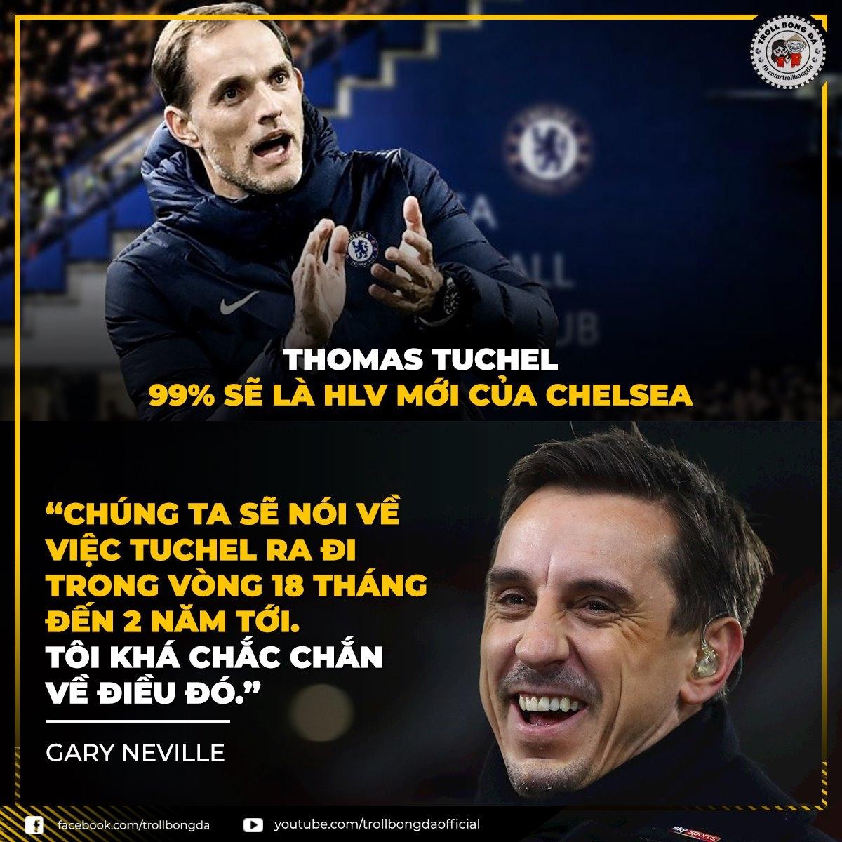 Biếm họa 24h, Huyền thoại MU dự đoán HLV tiếp theo của Chelsea cũng sẽ sớm bị sa thải (Ảnh: Troll bóng đá).