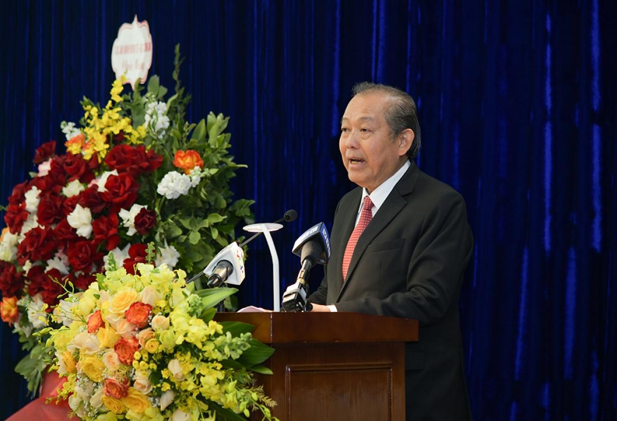 Phó Thủ tướng Thường trực Trương Hòa Bình yêu cầu Ủy ban triển khai thực hiện tốt Nghị quyết số 12-NQ/TW, khóa XII.