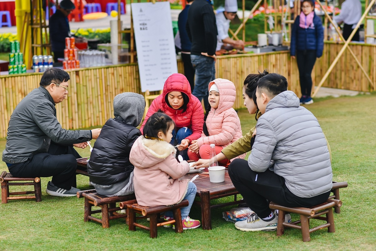 Lễ hội văn hóa ẩm thực được tổ chức tại Vinhomes Smart City 2020.