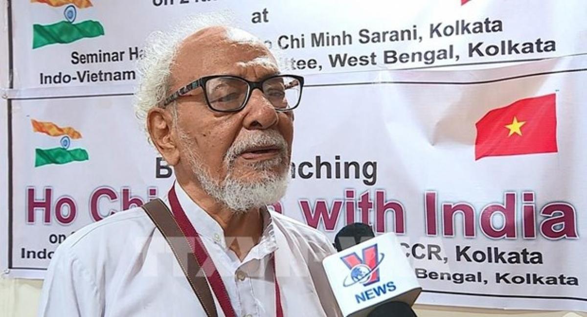 Geetesh Sharma, President of the India-Vietnam Solidarity Committee (IVSC) in West Bengal. (Photo: VNA)