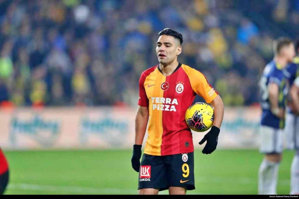 Radamel Falcao – Cựu tiền đạo MU đang khoác áo Galatasaray