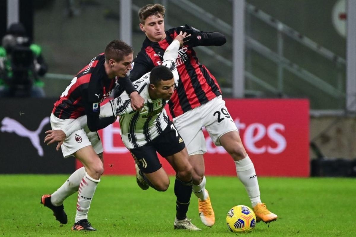 """Vai trò """"chim mồi"""" ở trận đại chiến với AC Milan có lẽ là một cột mốc đánh dấu sự thay đổi lối chơi của Cristiano Ronaldo khi sắp bước sang tuổi 36 (sinh nhật 5/2)."""